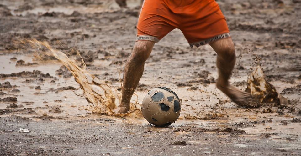 Fudbal po kisi